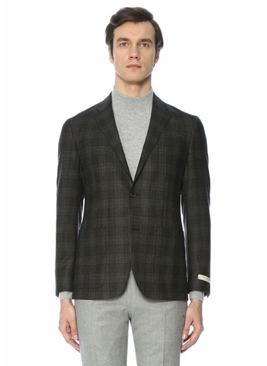 Beymen Collection Yün Blazer Ceket Füme